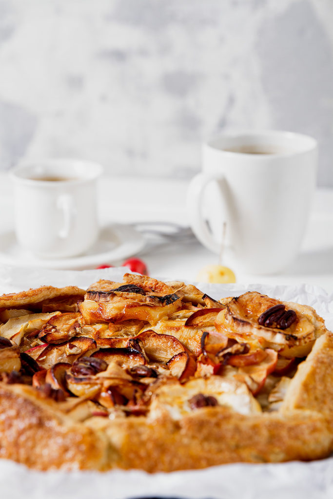Apple Galette With Goat Cheese