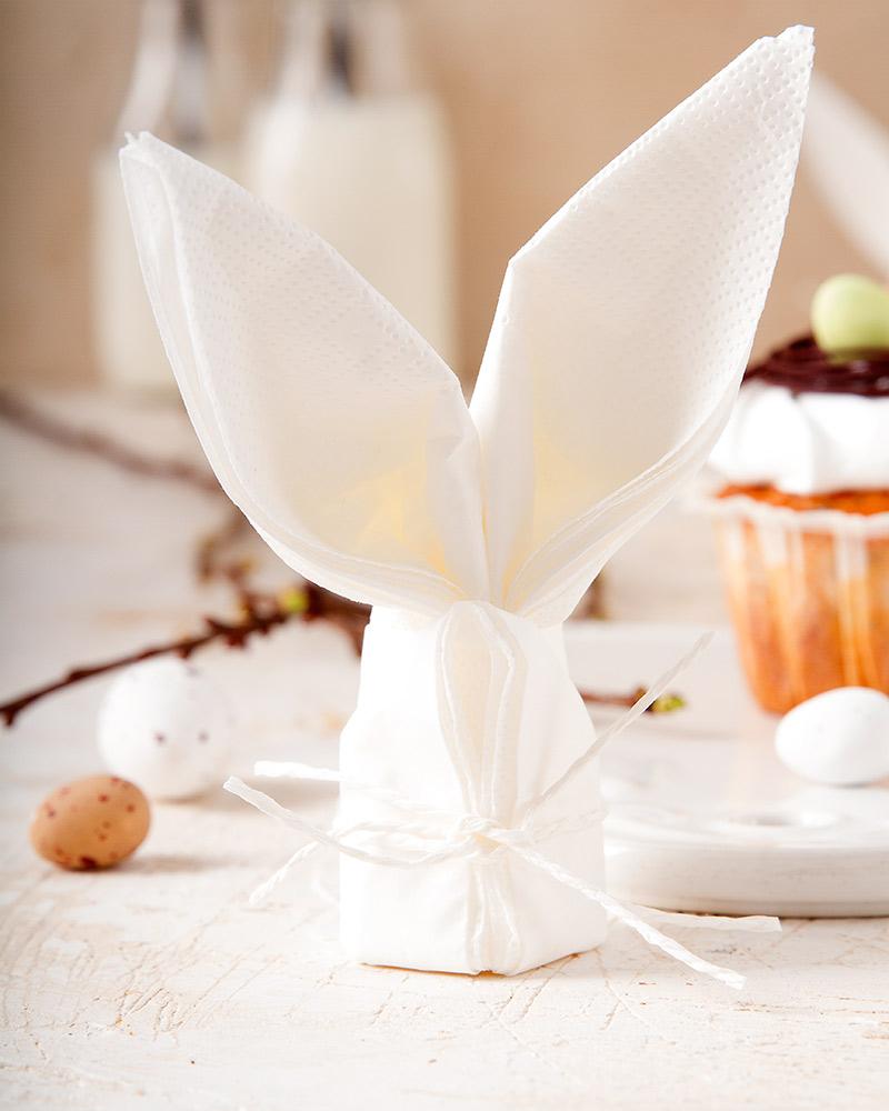 rabbit napkin