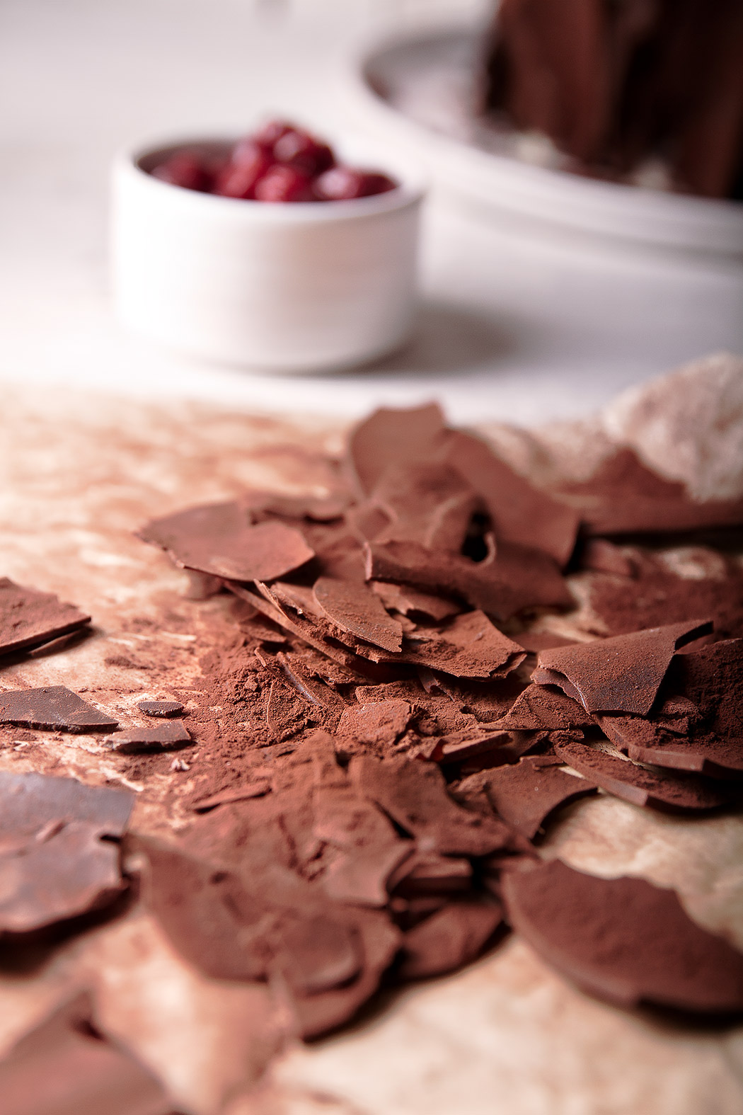chocolate for black forest cake