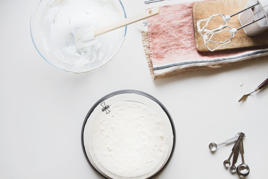 soufflé layer of bird's milk cake